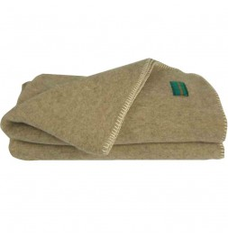 Couverture pure laine bio 500g/m² bizet