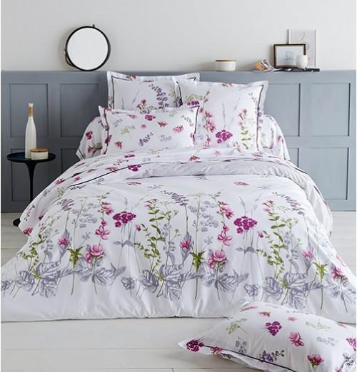 housse de couette fleurie pretty tradilinge. Black Bedroom Furniture Sets. Home Design Ideas