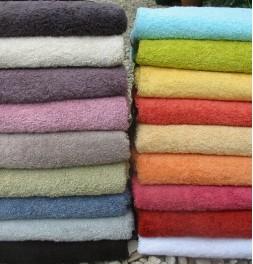 Lot de 2 serviettes de toilette coton bio Aquanatura
