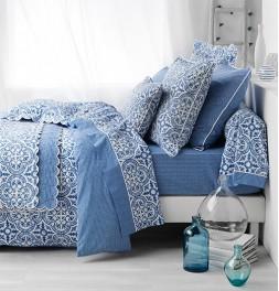 Parure de lit percale de coton Athéna