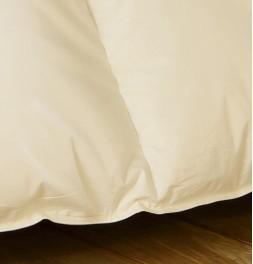Couette 90% duvet d'oie 280g/m² chaude - enveloppe coton bio zoom