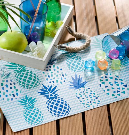 Set de table Exotic Ananas Calitex