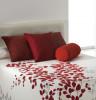 Couvre-lit jacquard Geisha rouge zoom