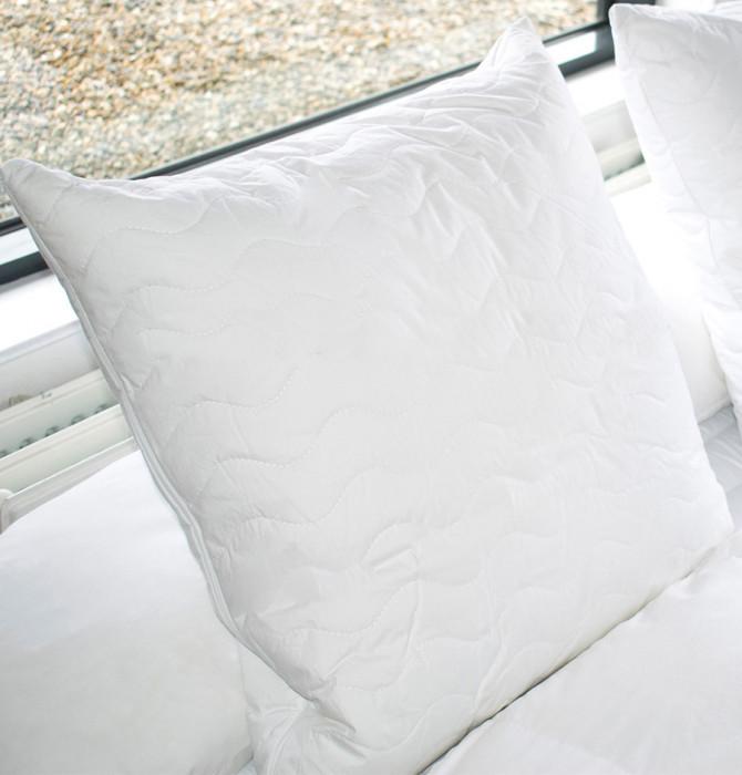 Oreiller mousse à mémoire de forme et fibres Soft Clinilab