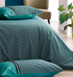 Housse de couette percale Gustav zoom