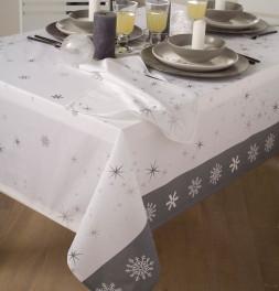 Nappe polyester Rain Star blanc Calitex