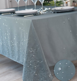 Nappe polyester Perledo anthracite Calitex