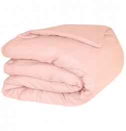 Parure de lit en lin lavé Sonate rose Vent du Sud