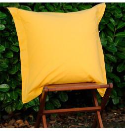 Parure de lit coton bio jaune soleil