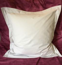 Parure de lit coton bio gris perle