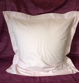 Parure de lit coton rose poudré