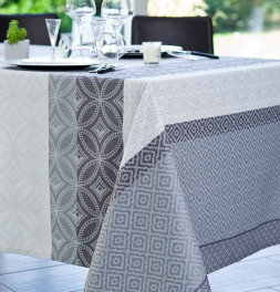 Nappe jacquard enduite Gally Nydel