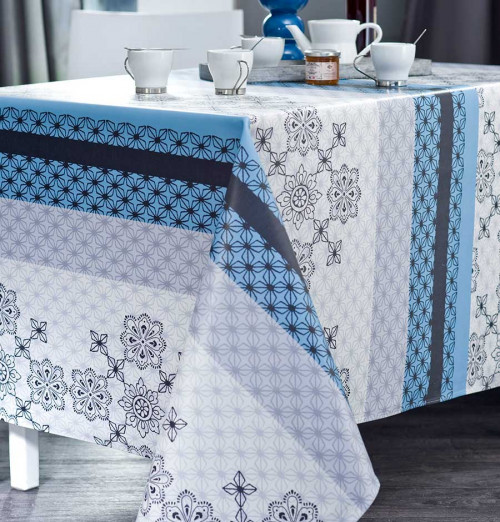Nappe coton enduite PVC Folk Nydel