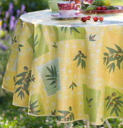 Nappe toile cirée Olivier Calitex