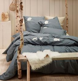 Parure de lit percale Arctique Sylvie Thiriez