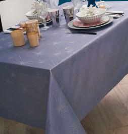 Nappe polyester Kimiko gris Calitex