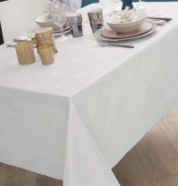 Nappe polyester Kimiko blanc