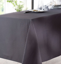 Nappe damassée polyester Fauzia Calitex