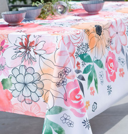 Nappe polyester Gardenia