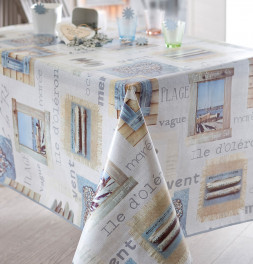 Nappe polyester Plage Calitex