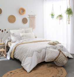 Parure de lit Ramatuelle ficelle Tradilinge