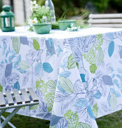 Nappe polyester Flora Calitex