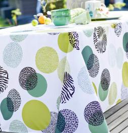 Nappe polyester Vegetal Dots Calitex