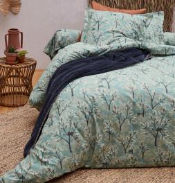 Parure de lit percale Java Sylvie Thiriez