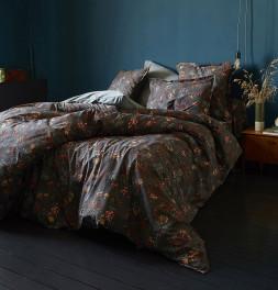 Parure de lit percale Alice Sylvie Thiriez