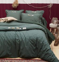 Parure de lit Shetland Sylvie Thiriez