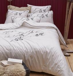 Parure de lit percale En piste Sylvie Thiriez