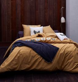 Parure de lit percale Les moufles Sylvie Thriez