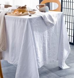 Nappe coton bio et chanvre Organic blanc Nydel