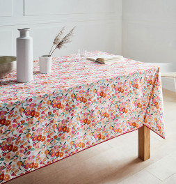 Nappe coton enduite PVC Millefiori Nydel