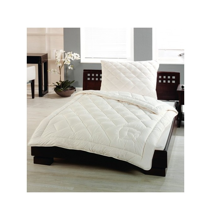 couette coton bio l g re 200g m2 naturfan blancollection. Black Bedroom Furniture Sets. Home Design Ideas