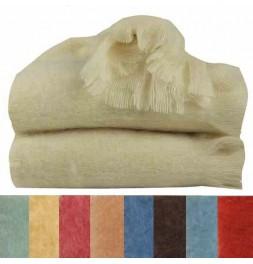 Couverture Mohair 320g/m² Ourson 9 coloris