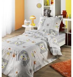 parure de lit enfant mistigri. Black Bedroom Furniture Sets. Home Design Ideas
