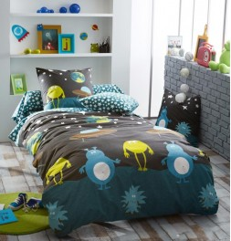 Drap housse enfant Monsters Tradilinge