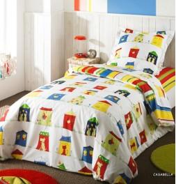 Parure de lit enfant Casabella Jour de Paris Enfant