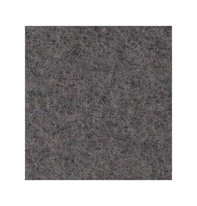 Couverture pure laine vierge Woolmark 800g/m² gris anthracite