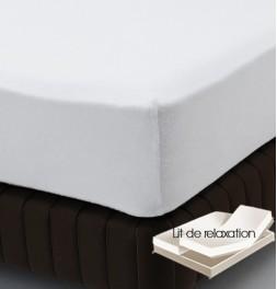 Protège-matelas molleton 220g/m² - literie de relaxation Tissage du Moulin