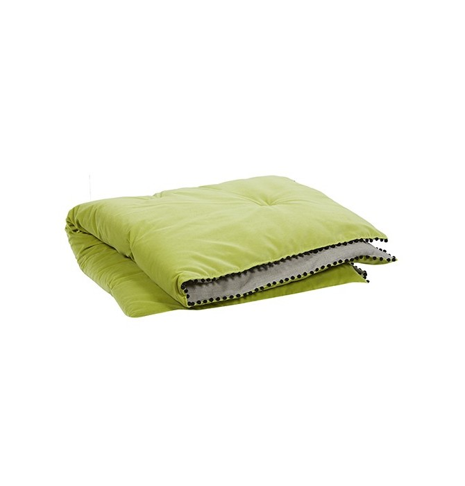 Edredon Farandole vert Autrement Dit