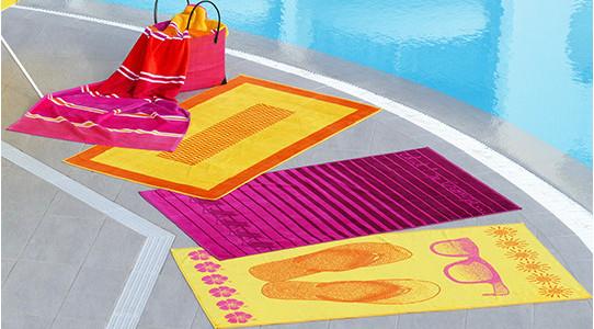 Draps et sacs de plage