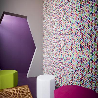 Blancollection tendance papier peint for Papier peint chambre moderne
