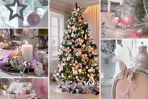 Blancollection tendances deco noel for Decoration de noel rose