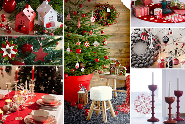 Blancollection tendances deco noel - Table de noel traditionnelle ...